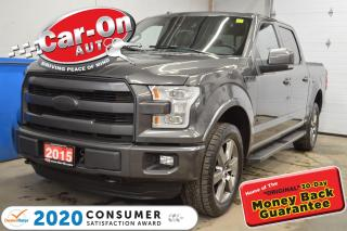 Used 2015 Ford F-150 LARIAT LOADED !!! for sale in Ottawa, ON