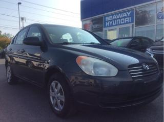 Used 2008 Hyundai Accent GL Automatic - Keyless Entry - Air Conditioning for sale in Cornwall, ON