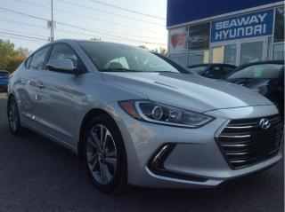 Used 2017 Hyundai Elantra Limited - Ultimate - Navigation - Apple Car Play for sale in Cornwall, ON