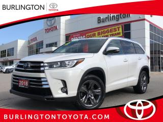 Used 2018 Toyota Highlander LIMITED  for sale in Burlington, ON