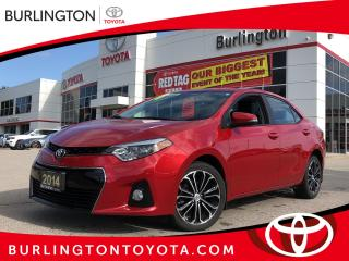 Used 2014 Toyota Corolla S Premium Package for sale in Burlington, ON
