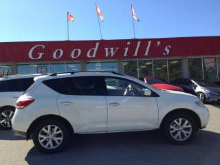 Used 2012 Nissan Murano SL! HEATED LEATHER! SUNROOF! BACKUP CAM! for sale in Aylmer, ON