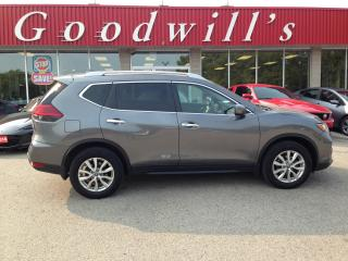 Used 2017 Nissan Rogue SV! HEATED SEATS! B/T! CAM! REMOTE START! for sale in Aylmer, ON