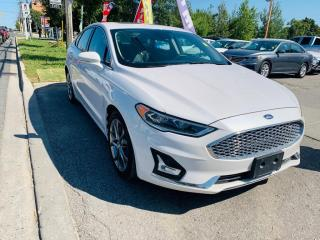 Used 2020 Ford Fusion Hybrid Titanium FWD for sale in Toronto, ON