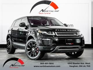 Used 2018 Land Rover Evoque SE Navigation Pano Roof Camera Heated Leather for sale in Vaughan, ON