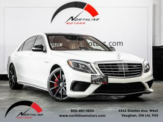 Used 2015 Mercedes-Benz S-Class S63 AMG|Navigation|Advanced Drivers Assist|NightVision for sale in Vaughan, ON