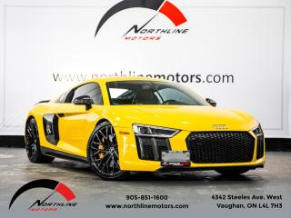 Used 2017 Audi R8 V10 Plus|Carbon Fiber|Sport Exhaust|B&O Sound for sale in Vaughan, ON