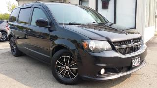 Used 2015 Dodge Grand Caravan R/T - LEATHER! NAV! DVD! BACK-UP CAM! BSM! PWR DOORS! for sale in Kitchener, ON