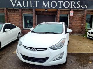 Used 2016 Hyundai Elantra 4dr Sdn GLS NO ACCIDENTS ONTARIO CAR for sale in Brampton, ON