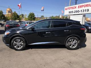Used 2017 Nissan Murano SV TECH AWD Navigation/Pano Roof/Camera/Heated Seats for sale in Mississauga, ON