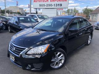 Used 2015 Nissan Sentra SR Camera/Sunroof/Alloys/Navigation for sale in Mississauga, ON