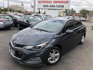 Used 2017 Chevrolet Cruze RS Sunroof/Navigation/Heated Seats/Alloys/Tinted for sale in Mississauga, ON