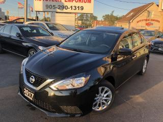 Used 2017 Nissan Sentra SV Sunroof/Camera/Heated Seats/Alloys&GPS* for sale in Mississauga, ON