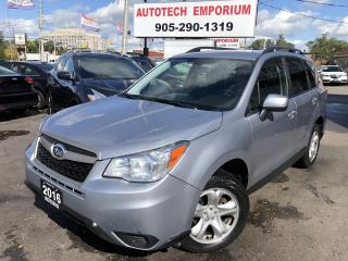 Used 2016 Subaru Forester Backup Camera/Bluetooth/Heated Seats&GPS* for sale in Mississauga, ON