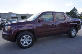 Used 2007 Honda Ridgeline EX-L 4WD CERTIFIED 2YR WARRANTY SUNROOF HEATED LEATHER ALLOYS for sale in Milton, ON