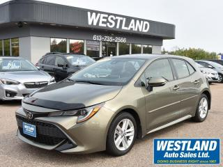 Used 2019 Toyota Corolla SE Hatchback for sale in Pembroke, ON