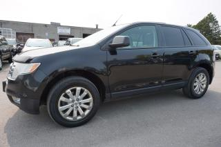Used 2007 Ford Edge SEL PLUS AWD CERTIFIED 2YR WARRANTY *FREE ACCIDENT* PANO SUNROOF HEATED LEATHER ALLOYS for sale in Milton, ON