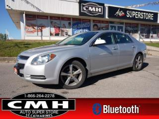 Used 2011 Chevrolet Malibu LT  BT S/W-AUDIO P/SEAT PWR-GROUP 17-AL for sale in St. Catharines, ON