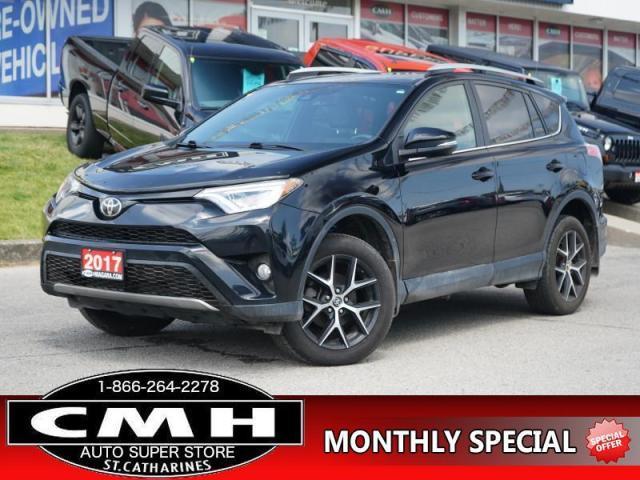 2017 Toyota RAV4 AWD SE  NAV LANE-DEP ROOF LEATH HTD-S/W 18-AL