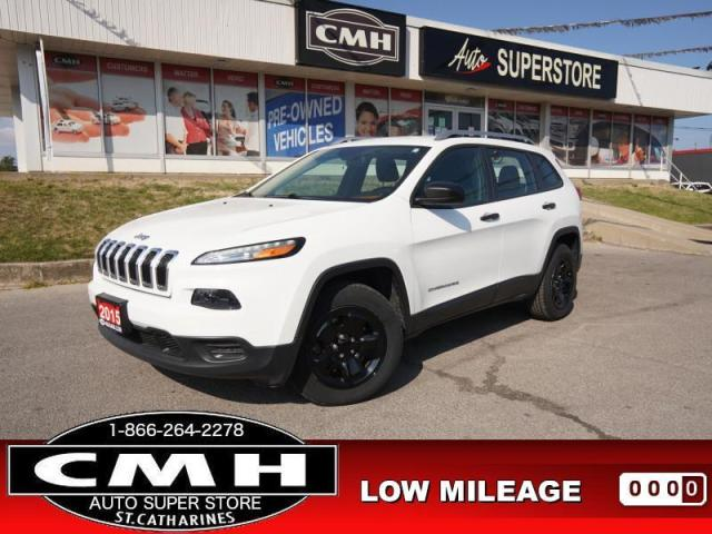 2015 Jeep Cherokee Sport  4X4 CAM BT HTD-SEATS HTD-S/W