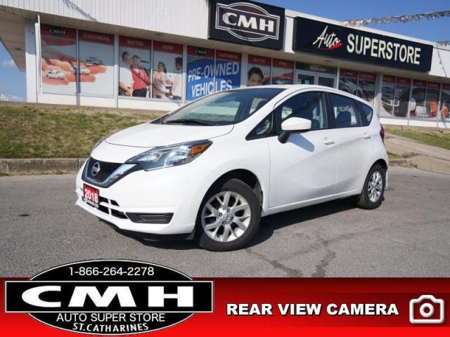 "2018 Nissan Versa Note SV  BT ROOF PWR-GROUP HTD-SEATS 17""-AL"