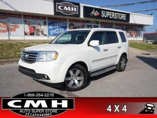 Used 2015 Honda Pilot Touring  NAV CAM DVD BT LEATH ROOF P/GATE for sale in St. Catharines, ON