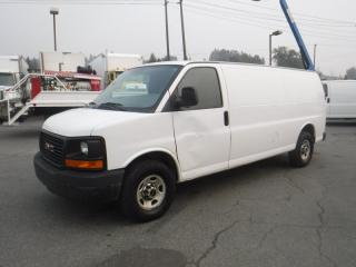Used 2012 GMC Savana G2500 Extended cargo van for sale in Burnaby, BC