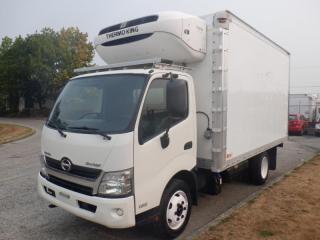 Used 2013 Hino 195 SilverKnight 14 Foot Reefer Cube Van Diesel for sale in Burnaby, BC
