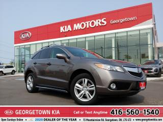 Used 2013 Acura RDX TECH PKG | AWD | LTHR | CLEAN CARFAX | NAV | B/T for sale in Georgetown, ON