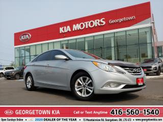 Used 2013 Hyundai Sonata GLS | CLEAN CARFAX | ROOF | B/U CAM | HTD SEATS | for sale in Georgetown, ON