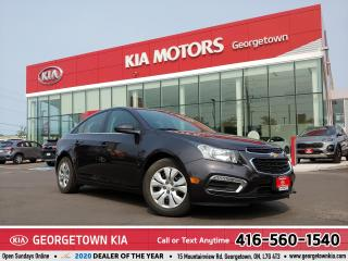 Used 2015 Chevrolet Cruze 1LT | CLEAN CARFAX | SUNROOF | B/U CAM | BLUETOOTH for sale in Georgetown, ON