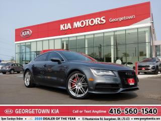 Used 2012 Audi A7 PRESTIGE S-LINE| LTHR| NAV| ROOF| BTOOTH | HTD STS for sale in Georgetown, ON