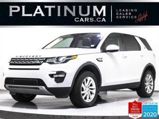 Used 2017 Land Rover Discovery Sport HSE, AWD, 7 PASS, NAV, PANO, CAM, HEATED, KEYLESS for sale in Toronto, ON