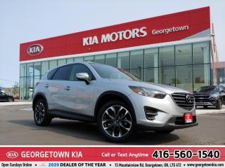Used 2016 Mazda CX-5 GT | AWD| CLEAN CARFX | LTHR| NAV | ROOF| B/U CAM for sale in Georgetown, ON