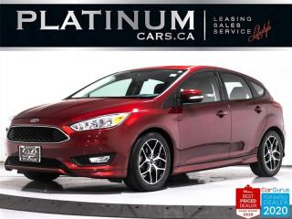 Used 2017 Ford Focus SE, HATCHBACK, AUTO, SYNC, BACKUP CAM, BLUETOOTH for sale in Toronto, ON