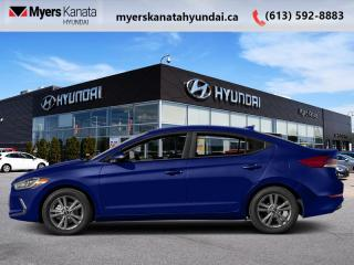 Used 2018 Hyundai Elantra GL  - $118 B/W - Low Mileage for sale in Kanata, ON