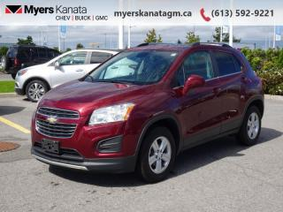 Used 2016 Chevrolet Trax LT  -  Remote Start -  Bluetooth for sale in Kanata, ON