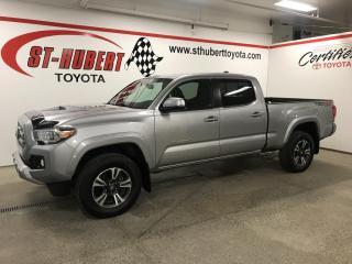 Used 2017 Toyota Tacoma 4WD Double Cab V6 Auto TRD Sport for sale in St-Hubert, QC