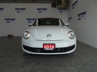 Used 2016 Volkswagen Beetle Convertible CLASSIC | CONVERTIBLE | LEATHER | NAV | LOW KMS! for sale in Brantford, ON
