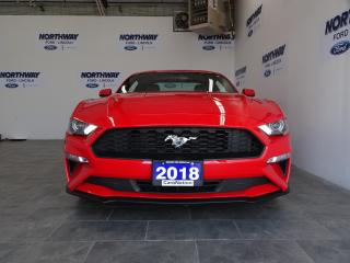 Used 2018 Ford Mustang PREMIUM FASTBACK | LEATHER | TOUCHSCREEN | 26 KM! for sale in Brantford, ON