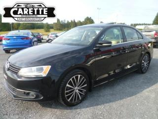 Used 2014 Volkswagen Jetta Tdi highline cuir-toit for sale in East broughton, QC