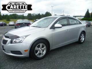 Used 2012 Chevrolet Cruze LT for sale in East broughton, QC