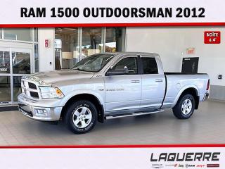 Used 2012 RAM 1500 OUTDOORSMAN for sale in Victoriaville, QC