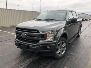 Used 2018 Ford F-150 XLT Sport Crew CAB 4X4 for sale in Cayuga, ON
