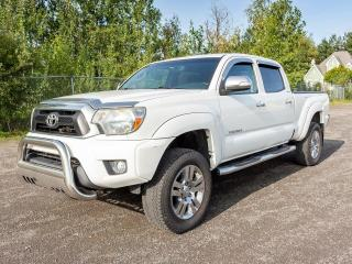 Used 2013 Toyota Tacoma LIMITED CREW 4X4 CAMÉRA CUIR SIÈGES CHAUFF *NAV* for sale in St-Jérôme, QC