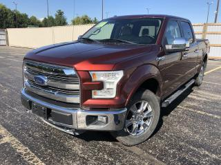 Used 2015 Ford F-150 LARIAT CREW 4x4 for sale in Cayuga, ON