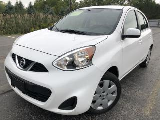 Used 2017 Nissan Micra SV 2WD for sale in Cayuga, ON