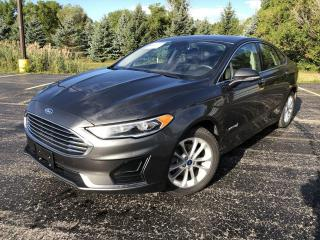 Used 2019 Ford Fusion Hybrid SEL 2WD for sale in Cayuga, ON