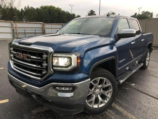 Used 2018 GMC Sierra 1500 SLT Z71 CREW 4X4 for sale in Cayuga, ON