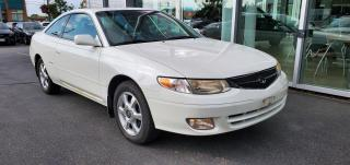 Used 2001 Toyota Camry Solara AUTO CLEAN CARFAX for sale in Scarborough, ON